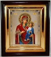 Икона Божья Матерь Иверская 24,5*21,5*4 см