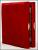 Складень в бархате  с золотой рамкой  10*12