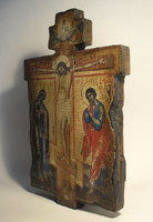 Икона под старину Крест распятие