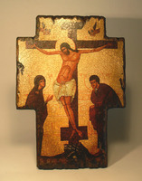 Икона Крест распятие 2 под старину
