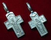 Крест нательный 11