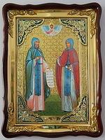 Петр и Феврония  икона