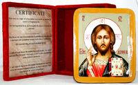 Писанная икона Спаситель в шкатулке