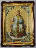 Спаситель на троне  икона