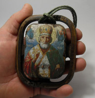 Корабельная икона Николай Чудотворец