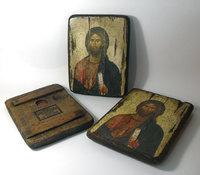Икона под старину Христос Пантократор