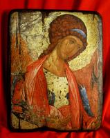 Икона под старину Ангел Хранитель