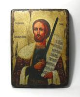 Икона под старину  Св.Бл.Кн. Александр Невский
