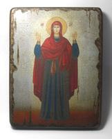 Икона под старину  Икона Б.М. Нерушимая Стена