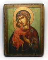 Икона под старину  Феодоровская Б.М.