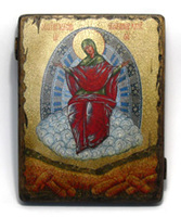 Икона под старину  Б.М. Спорительница Хлебов