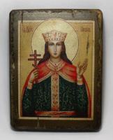 Икона под старину  Св.Вмч. Ирина