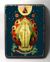 Икона под старину Милосердия Двери