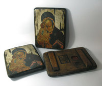 Икона под старину Божией Матери Донская