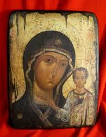 Икона Божией Матери Казанская под старину