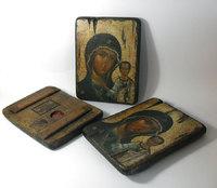 Икона под старину Божией Матери Казанская на доске