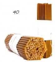 Свечи из натурального пчелиного воска №40