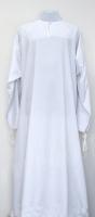 Подризник белый габардин без вышивки