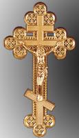 Крест ажурный средний с распятиям